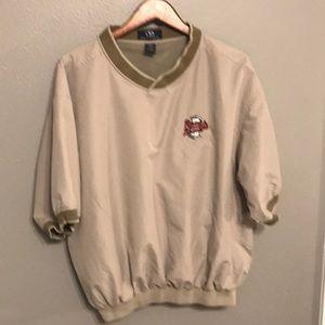 Other - Atlanta Braves Size Large Vantage Pullover Jacket